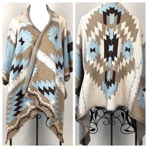 Soft Surroundings Aztec Southwestern Cardigan